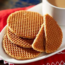 Finger Licking Dutch 36-count Caramel Stroopwafels