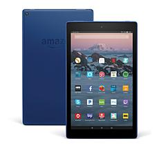 "Fire HD 10"" 32GB Quad-Core Hands-Free Alexa Tablet with Case Voucher"