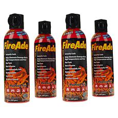 FireAde Non-Toxic Fire Extinguisher 4-pack