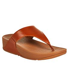 FitFlop Lulu Leather Toe Post Sandal
