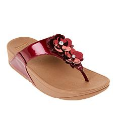 553387967 FitFlop Lulu Wildflower Toe Post Sandal