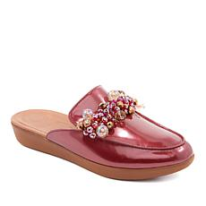 FitFlop Serene Leather Deco Mule