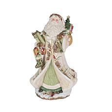 Fitz and Floyd Forest Frost Santa Figurine