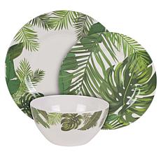 Fitz and Floyd Tropical Fun 12-Piece Dinnerware Set