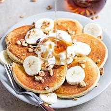 FlapJacked 6-pack Banana Hazelnut Pancake Mix