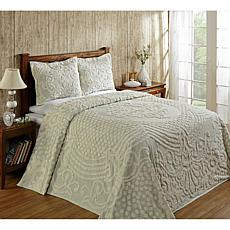 Florence 100% Cotton Tufted Chenille Bedspread - King