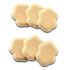 Foot Petals Pressure Pointz Spot Cushions 6-pack