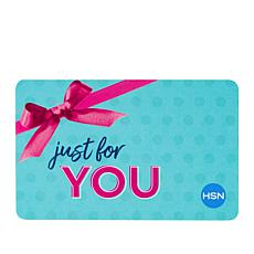 For You $25.00 HSN Gift Card