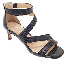 Franco Sarto Ceila Leather Strappy Sandal