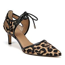 Franco Sarto Darlis Pointed-Toe Leopard-Print Haircalf Pump