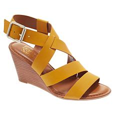 8787390dd0a Franco Sarto Yara Leather Wedge Sandal
