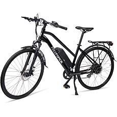 "Free Force Indy 18"" Electric Commuter Bike w Thumb Throttle - Black"