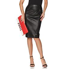 French Rendez Vous Triomphe Pencil Sexy Skirt
