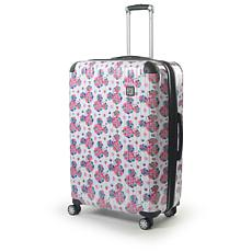 "FUL Disney Minnie Mouse Floral 29"" Printed Hard-sided Rolling Luggage"