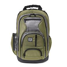 FUL Free Fallin' Green Padded Laptop Backpack