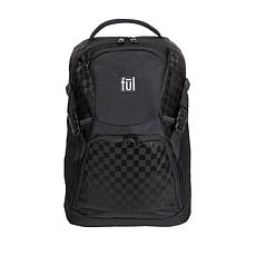 "FUL Marlon 19"" Laptop Backpack - Black"