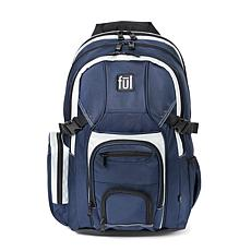 "FUL Tennman Laptop Backpack with 17"" Laptop Sleeve - Navy"