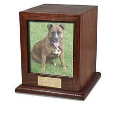 Fur Eternity Personalized Hardwood Photo Pet Urn - Small