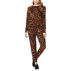 G by Giuliana 2-piece Sweatshirt and Lounge Pant Set
