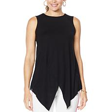 G by Giuliana Asymmetric-Hem Tank Top
