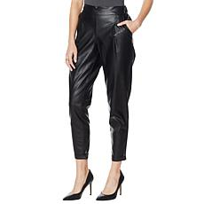 G by Giuliana Black Label Faux Leather Pant