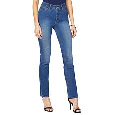 G by Giuliana Downtown Denim Slim Straight Jean