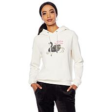 G by Giuliana Hooded Sweatshirt with Beading