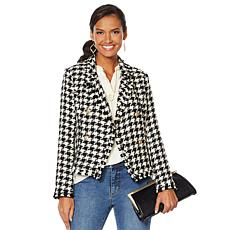 G by Giuliana Houndstooth Blazer