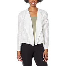G by Giuliana Knit Eyelet Cardigan