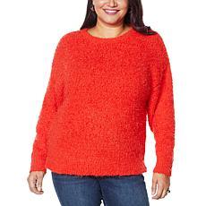 G by Giuliana Smushy Yarn Sweater