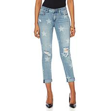 G by Giuliana Star Slim Boyfriend Jean