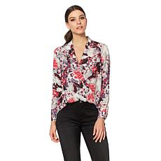 G by Giuliana Wrap Blouse