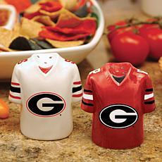 Gameday Ceramic Salt and Pepper Shakers - Georgia