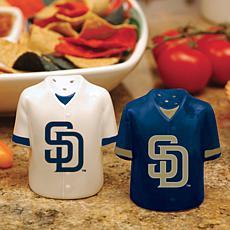 Gameday Ceramic Salt and Pepper Shakers - SD Padres