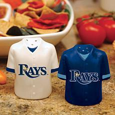 Gameday Ceramic Salt & Pepper Shakers - Tampa Bay Rays