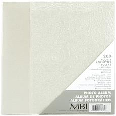 Gardenia Pearl Photo Album - 200 Photo Capacity
