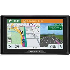"Garmin Drive 61 LM 6""  GPS Navigator w/Driver Alerts, US Lifetime Maps"