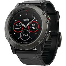 Garmin fenix® 5X Multisport GPS Watch Sapphire Edition with Maps