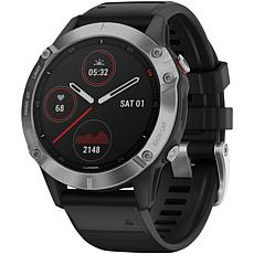 Garmin Fenix 6 Multisport GPS Watch in Silver