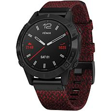 Garmin Fenix 6 Sapphire Multisport GPS Watch in Black DLC