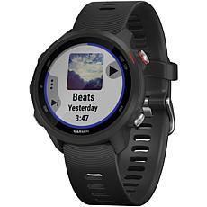 Garmin Forerunner 245 Music Running Watch in Black