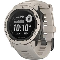 Garmin Instinct GPS Watch in Tundra