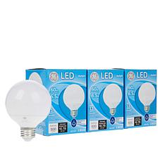 GE LED 6.5-Watt Daylight Globe Dimmable 4-pack
