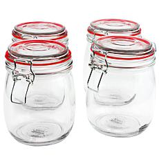 General Store Lake House 4 Piece 22 oz. Preserving/Storage Jar Set ...