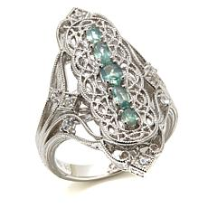 Generations® 1912 - .622ctw Alexandrite and Zircon Ring