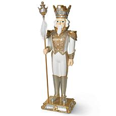 "Gerson 70"" Resin Nutcracker Statue"