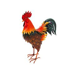 Gerson Metal Rooster Figurine