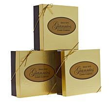 Giannios 3 - 1 lb. Assorted Chocolates 14 Flavors
