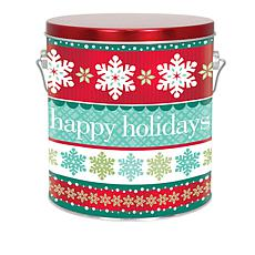 Giannios 3 lbs. Assorted Chocolates in Holiday Cheer Tin