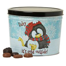 Giannios 5.5 lbs. Assorted Chocolates in Baby It's Cold Tin - December